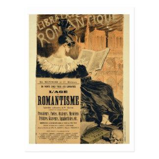 Reproducción de una publicidad de poster un entitl tarjetas postales