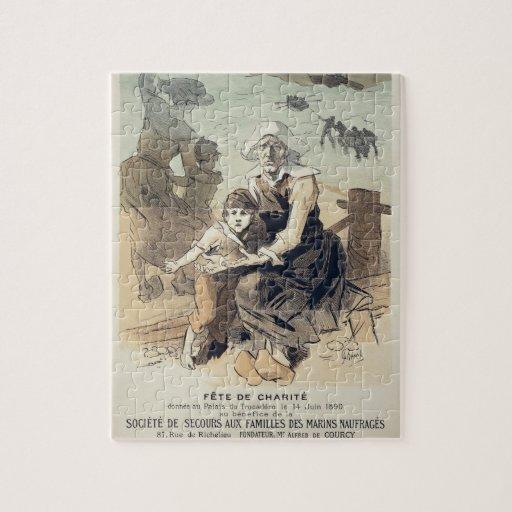 Reproducción de una publicidad de poster un 'PA de Rompecabeza Con Fotos