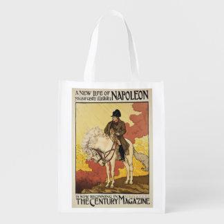 Reproducción de una publicidad de poster 'una bolsa para la compra