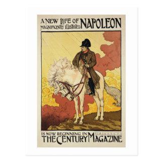 Reproducción de una publicidad de poster 'una postal
