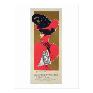 Reproducción de una publicidad de poster 'Zlata Postal