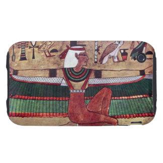 Reproducción egipcia Iphone de la diosa de ISIS 3 iPhone 3 Tough Funda