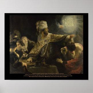 Reproducción gigante de la lona del Rembrandt-Bels Impresiones