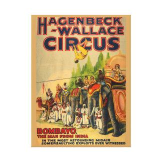 Reproducción india del poster del circo del lona estirada galerías