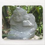 Reproducción maya 3 Mousepad de la estatua Tapetes De Raton