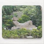 Reproducción maya Mousepad de la estatua del sacri Alfombrilla De Raton