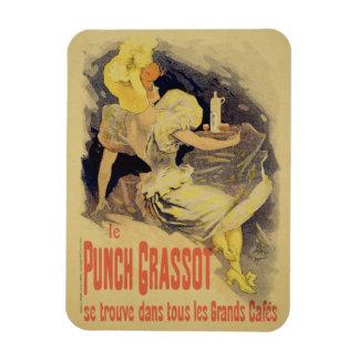 Reproducción sacador Grasso de una publicidad de p Imanes