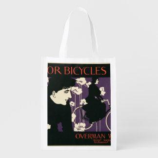 Reproducción vencedor Bicyc de una publicidad de Bolsa Reutilizable