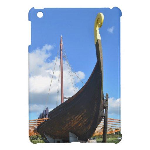 Reproducción Viking Longship iPad Mini Funda