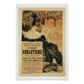 Reproduction of a poster advertising a book entitl