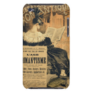 Reproduction of a poster advertising a book entitl iPod touch Case-Mate case