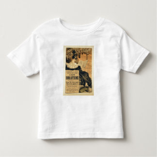 Reproduction of a poster advertising a book entitl toddler t-shirt