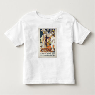 Reproduction of a poster advertising 'A La Place C Toddler T-shirt