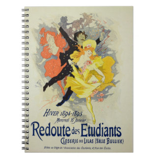Reproduction of a poster advertising a 'Student Ga Notebook