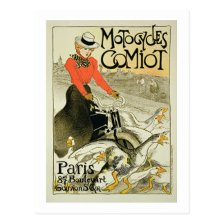 Reproduction of a Poster Advertising Comiot Motorc Postcard