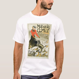 Reproduction of a Poster Advertising Comiot Motorc T-Shirt