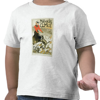 Reproduction of a Poster Advertising Comiot Motorc T Shirts