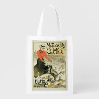 Reproduction of a Poster Advertising Comiot Motorc Grocery Bag