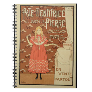 Reproduction of a poster advertising 'Doctor Peter Notebooks