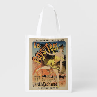 Reproduction of a poster advertising 'Fairyland, T Grocery Bag