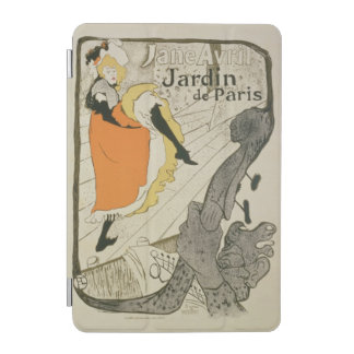 Reproduction of a poster advertising 'Jane Avril' iPad Mini Cover