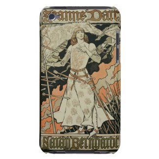 Reproduction of a poster advertising 'Joan of Arc' iPod Case-Mate Cases