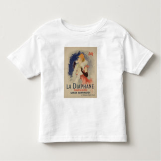 Reproduction of a poster advertising 'La Diaphane' Toddler T-shirt