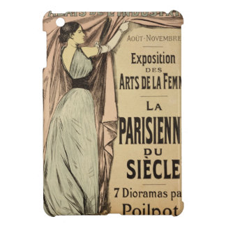 Reproduction of a poster advertising 'La Parisienn iPad Mini Cover