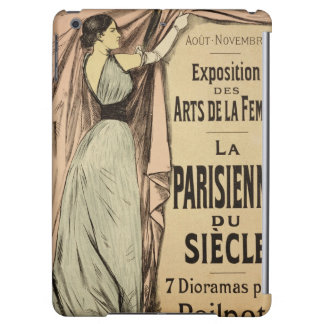Reproduction of a poster advertising 'La Parisienn iPad Air Cover