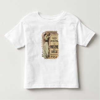 Reproduction of a poster advertising 'La Parisienn Toddler T-shirt