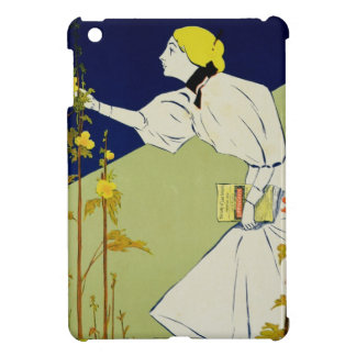 Reproduction of a poster advertising 'Lippincott's iPad Mini Covers