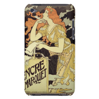 Reproduction of a poster advertising 'Marquet Ink' Barely There iPod Case