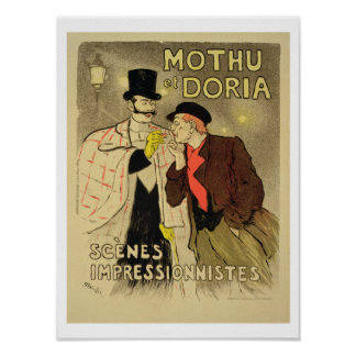 Reproduction of a poster advertising 'Mothu and Do
