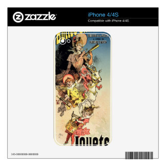 Reproduction of a poster advertising 'New Year Gif iPhone 4 Skins