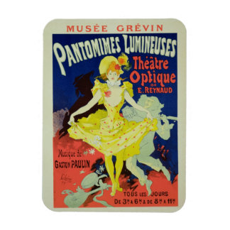 Reproduction of a Poster Advertising 'Pantomimes L Magnet