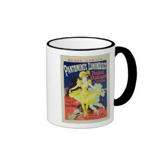 Reproduction of a Poster Advertising 'Pantomimes L Mug
