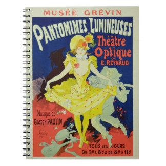 Reproduction of a Poster Advertising 'Pantomimes L Note Books