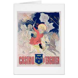 Reproduction of a poster advertising the 'Casino d Card