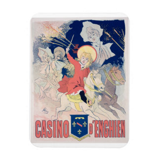 Reproduction of a poster advertising the 'Casino d Magnet