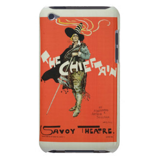 Reproduction of a poster advertising 'The Chieftai Barely There iPod Covers