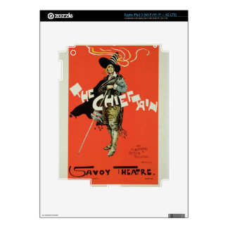 Reproduction of a poster advertising 'The Chieftai iPad 3 Skins