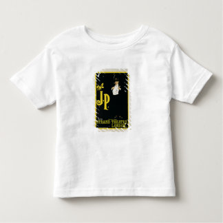 Reproduction of a poster advertising 'The J.P.' at Toddler T-shirt