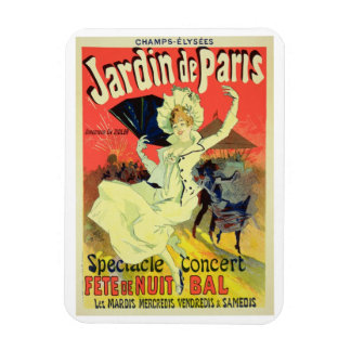 Reproduction of a Poster Advertising the 'Jardin d Magnet