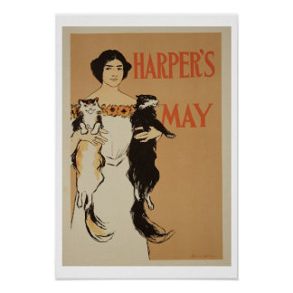 Reproduction of a poster advertising the May Issue