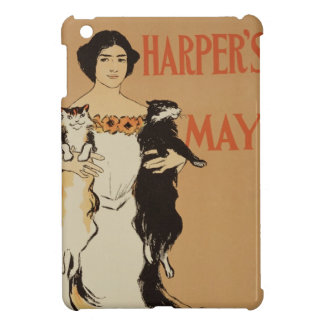 Reproduction of a poster advertising the May Issue iPad Mini Cases