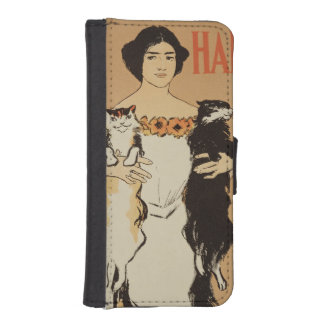 Reproduction of a poster advertising the May Issue iPhone SE/5/5s Wallet Case
