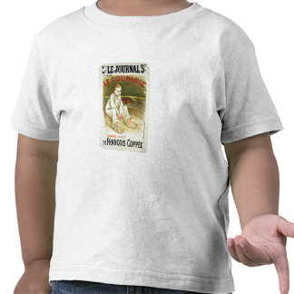 Reproduction of a poster advertising the novel 'Le T Shirt