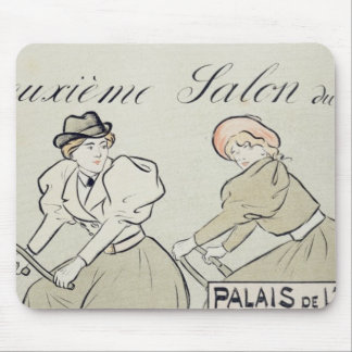 Reproduction of a poster advertising the 'Salon du Mouse Pad