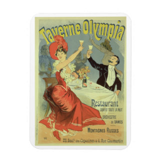 Reproduction of a poster advertising the 'Taverne Magnet