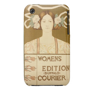 Reproduction of a poster advertising the 'Women's Case-Mate iPhone 3 Case